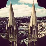 Truro. View from Truro Cathedral Stock Images