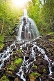 Trusetal-Wasserfall lizenzfreie stockbilder