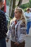 Truskavets Ucrânia ocidental 24 de agosto de 2017 foto de stock