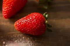 Truskawka, świeża truskawka, dojrzała truskawka, zdrowy strawberr Obrazy Royalty Free