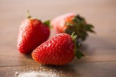 Truskawka, świeża truskawka, dojrzała truskawka, zdrowy strawberr Fotografia Royalty Free