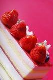 Truskawka tort Fotografia Stock
