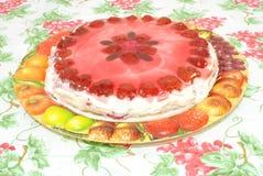 Truskawka tort Obrazy Royalty Free