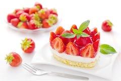 Truskawka tort Zdjęcie Royalty Free