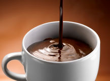 Truskawki i czekolada Obraz Stock