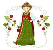 Truskawkowa dziewczyna Obraz Royalty Free