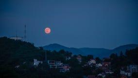 Truskawkowa księżyc Obrazy Royalty Free