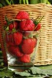 Truskawkowe owocowe jagody Obrazy Royalty Free
