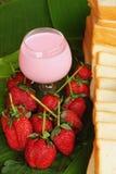 Truskawkowe owocowe jagody Obraz Stock