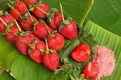Truskawkowe owocowe jagody Fotografia Royalty Free
