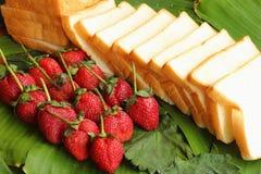 Truskawkowe owocowe jagody Zdjęcia Stock