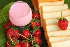 Truskawkowe owocowe jagody Zdjęcie Stock