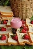 Truskawkowe owocowe jagody Fotografia Stock