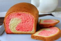 Truskawkowy chleb Fotografia Royalty Free