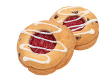 Truskawkowy ciastko Obraz Royalty Free