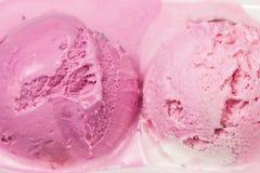 Truskawkowy lody Fotografia Royalty Free