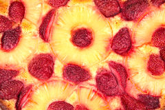 Truskawkowy manna tort Zdjęcia Stock