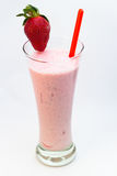 Truskawkowy milkshake Zdjęcie Stock