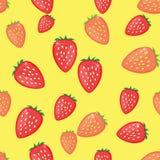 Truskawkowy owocowy wektor Obraz Stock