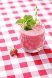 truskawkowy shake ' a Fotografia Stock