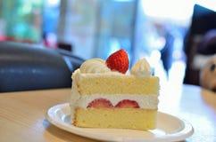 Truskawkowy shortcake obrazy stock