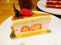 Truskawkowy shortcake fotografia stock