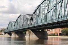Truss bridge stock image