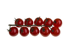 Truss Cherry Tomatoes Royalty Free Stock Photography