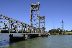 Truss Drawbridge Stock Photo