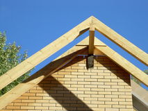 Truss roof system Stock Photography