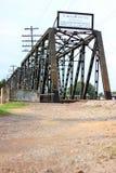 Truss span bridge Royalty Free Stock Photos