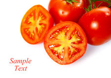 Truss Tomatoes Royalty Free Stock Photo