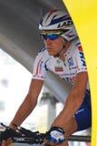 Trussov Nikolai - Tour de France 2009 Imagen de archivo libre de regalías