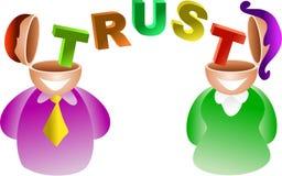 Trust brain Royalty Free Stock Photo