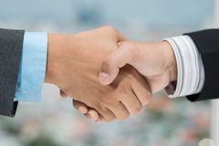 Trust business relations Stock Photography