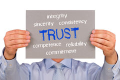 Trust concept Royalty Free Stock Image