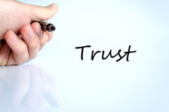 Trust concept Royalty Free Stock Photography