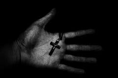 Trust on God's hand Stock Photo
