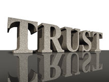 Trust honor financial business symbol integrity Stock Photo