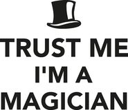 Trust me I`m a Magician Royalty Free Stock Photography