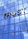 Trust on office building Royalty Free Stock Image
