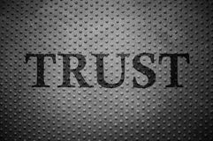 Trust pattern Royalty Free Stock Images