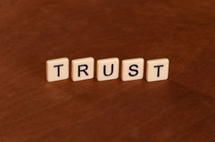 Trust sign Stock Images