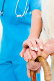 Trust your carer Stock Images