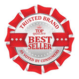 Trusted Brand. Best seller, Top Quality  Royalty Free Stock Photos