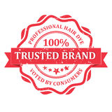 Trusted brand Professional Hair Dye Royalty Free Stock Photos