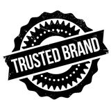 Trusted brand stamp Royalty Free Stock Photography