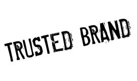 Trusted brand stamp Royalty Free Stock Photo