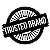 Trusted brand stamp Royalty Free Stock Image
