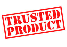 TRUSTED PRODUCT Stock Photos